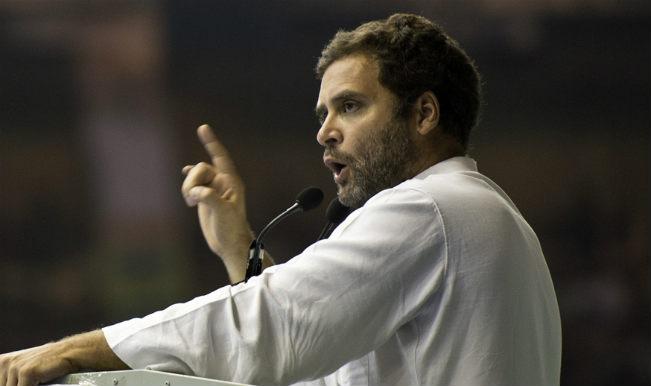 विपक्ष की आवाज दबाई जा रही : राहुल