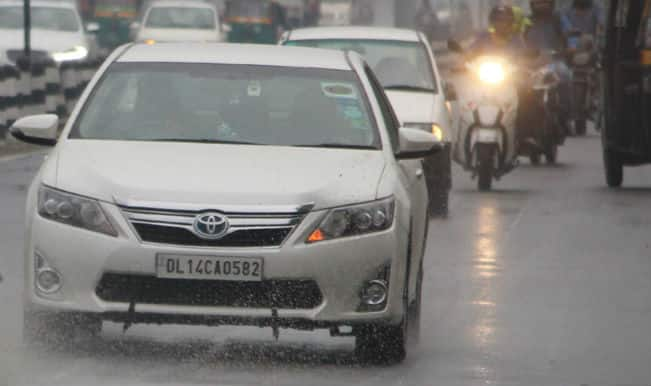 Respite from heat as rain lashes Delhi, NCR; flights affected