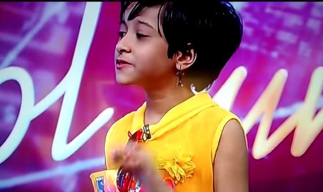 Indian Idol junior 2015: Ranita Banerjee renders Sonakshi Sinha speechless!