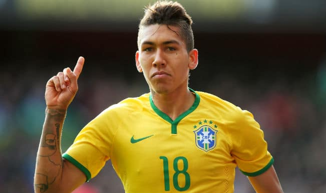 Roberto Firminho signs for Liverpool; club announce 28 Million GBP transfer from Hoffenheim