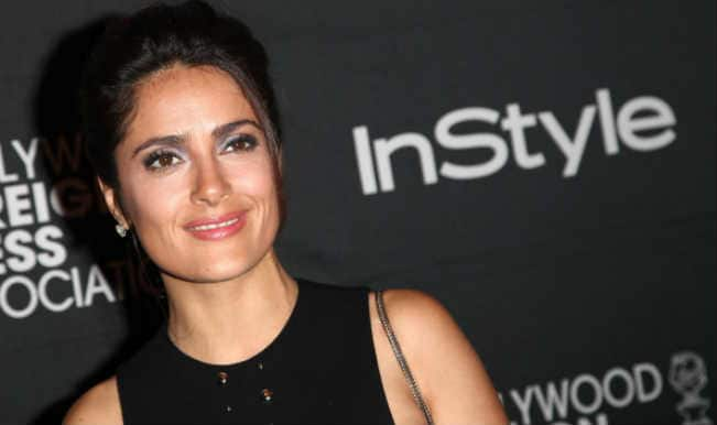 Salma Hayek: I don't have time to exercise