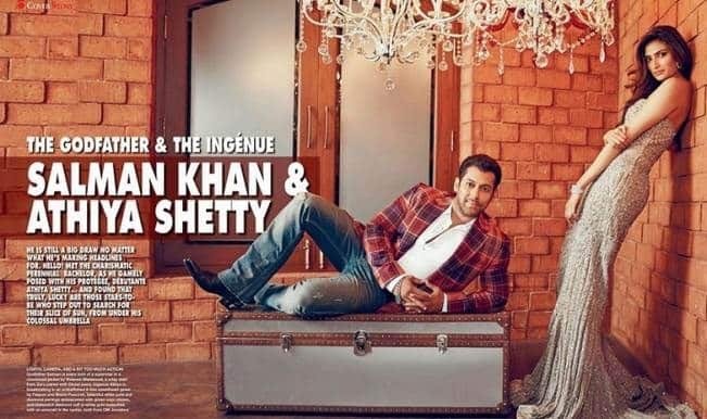 Salman Khan and Athiya Shetty get sexy for HELLO! India magazine shoot (Watch making & pictures)