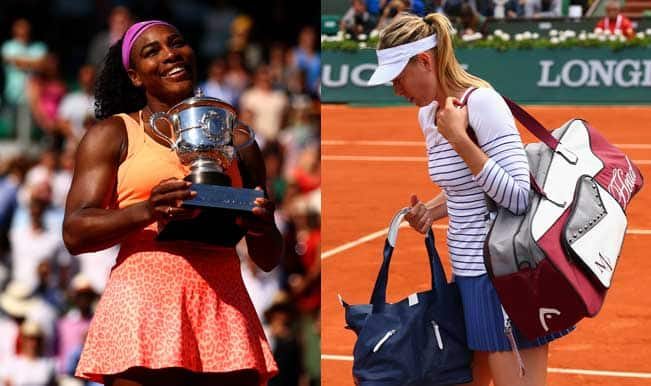 Serena Williams remains #1, Maria Sharapova falls to fourth in latest WTA rankings