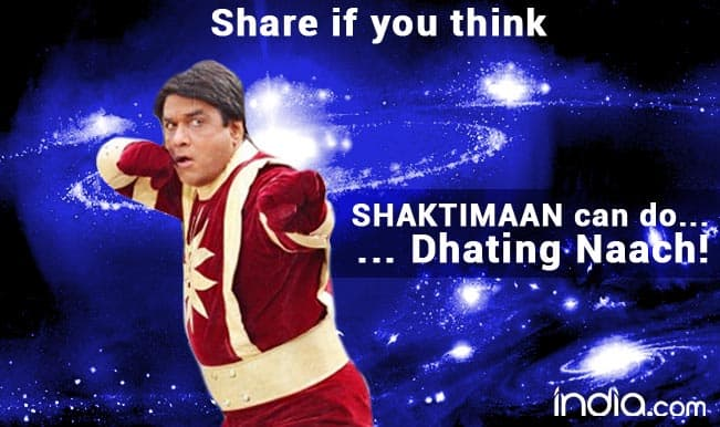 Shaktimaan can do Dhating Naach - Share this if you think so