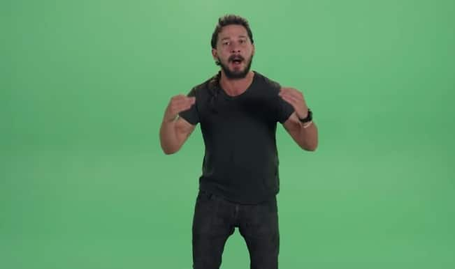 Watch Shia LaBeouf channel Raghu Ram's angriest avatar in the most 'motivational' video of all time!