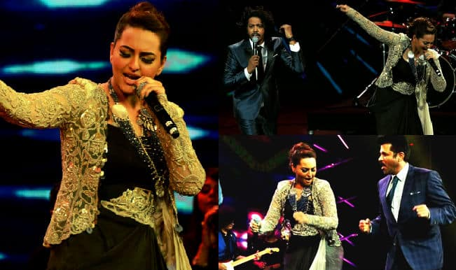 Woah! Sonakshi Sinha makes her singing debut at 16th IIFA Awards 2015