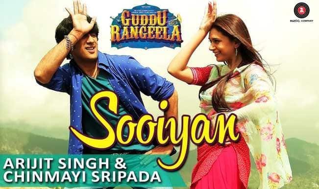 Guddu Rangeela song Sooiyan: Arijit Singh and Chinmayi Sripada croon Amit Trivedi's lilting but average melody