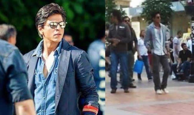 Leaked Video: Shah Rukh Khan fans chant 'SRK, SRK' on his arrival in Bulgaria!