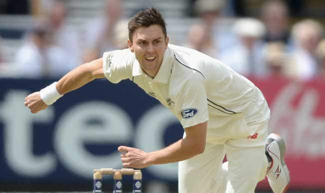England vs New Zealand 2015: Back injury forces Trent Boult to return home