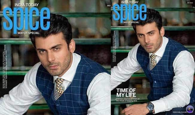 Fawad Khan spices up the India Today 'Spice' magazine cover!