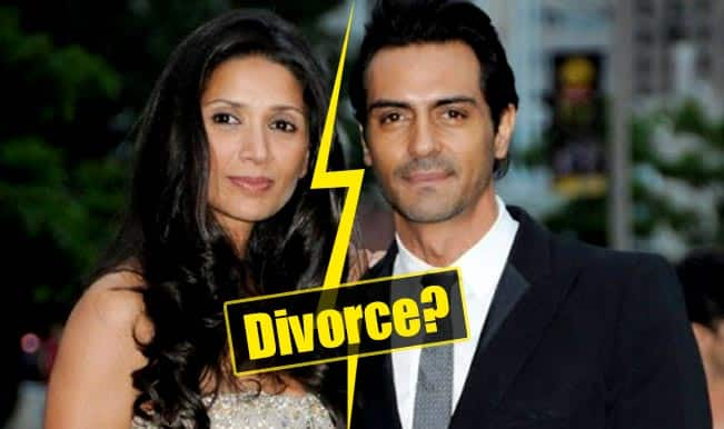 Arjun Rampal and Mehr Jessia heading for divorce