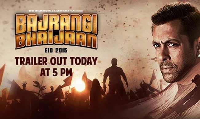 #BajrangiBhaijaanTrailerDay: Salman Khan to launch the trailer at 5 PM