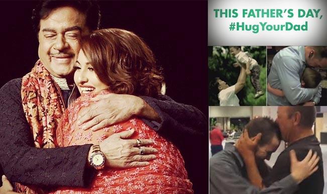 Father's Day Special: Sonakshi Sinha dedicates Vicks VapoRub's #HugYourDay campaign to Shatrughan Sinha