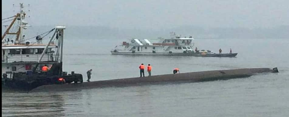 China boat capsize: Five confirmed dead