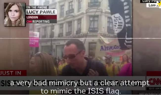 CNN mistakes dildo symbol for ISIS Flag: Watch this funny news piece