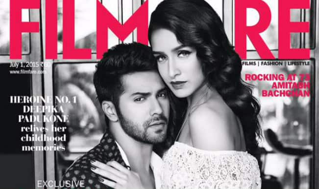 Varun Dhawan and Shraddha Kapoor on Filmfare cover; it's raining hotness!