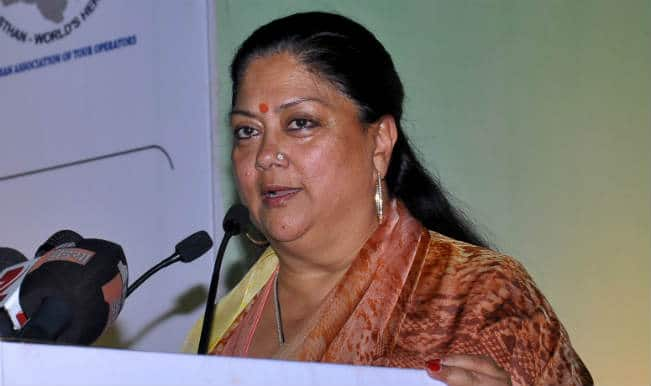 Udaipur lynching: Death of Zafar Hussein not murder, retweets Vasundhara Raje
