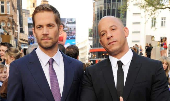 Vin Diesel shares emotional tribute to Paul Walker