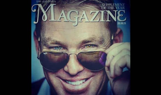 Shane Warne says that women don't believe that it's him on Tinder