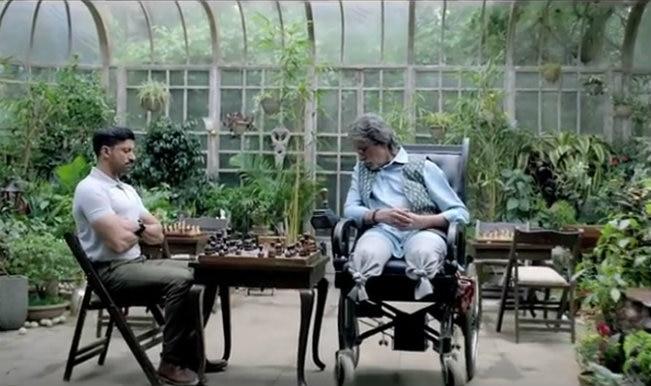 Wazir Teaser: Amitabh Bachchan & Farhan Akhtar's next looks gripping!