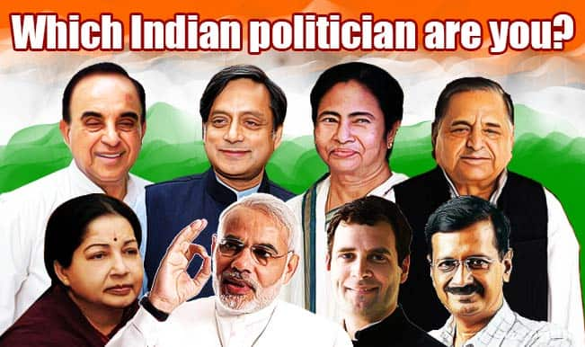 Narendra Modi, Arvind Kejriwal or Rahul Gandhi — which Indian politician are you?