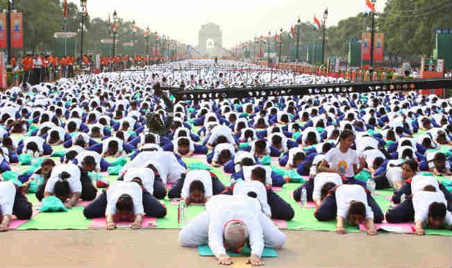 नेपाल में मना अंतर्राष्ट्रीय योग दिवस