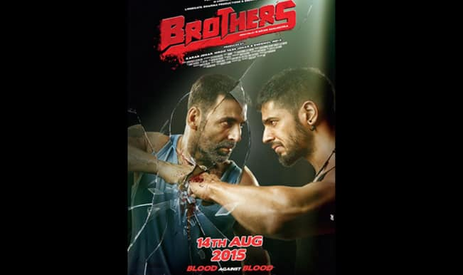 Brothers Poster: Akshay Kumar and Sidharth Malhotra look fierce in the brand new poster