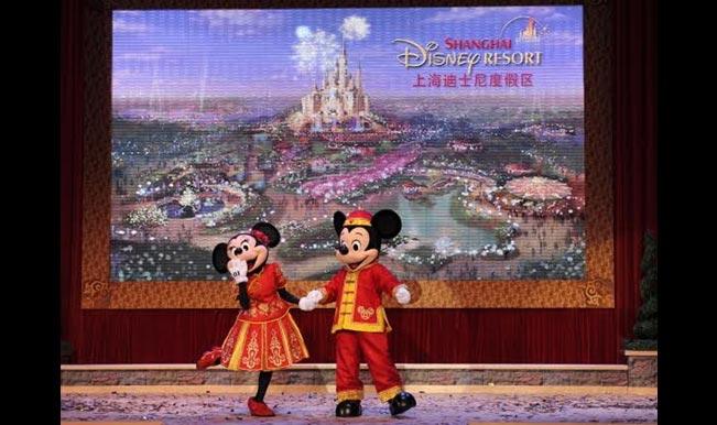 Shanghai Disneyland Park to open in spring 2016