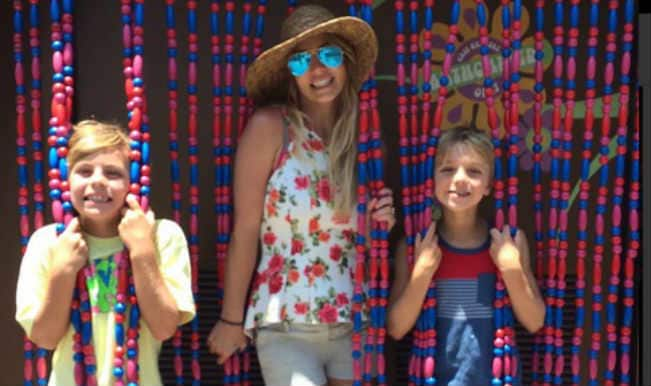 Britney Spears, sons recreate 'Oops... I Did It' album cover photo
