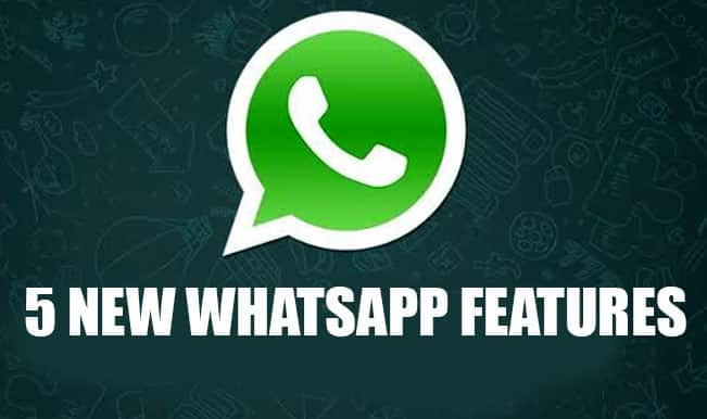 WhatsApp rolls out new techniques; 5 major features for Android users