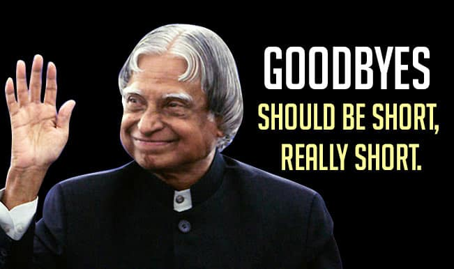 APJ Abdul Kalam Quotes: Top 15 motivational & inspirational sayings by the former President!