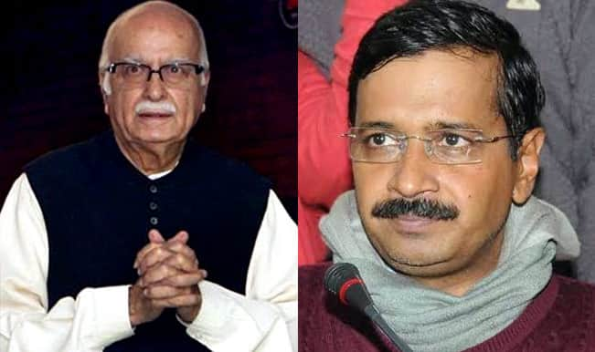 Amidst escalating tussle with Centre, Arvind Kejriwal pins hope in an unlikely supporter – LK Advani