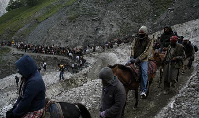 Amarnath Yatra suspended due to incessant rains