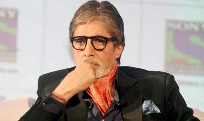 The moment was golden not the cutlery, says Amitabh Bachchan