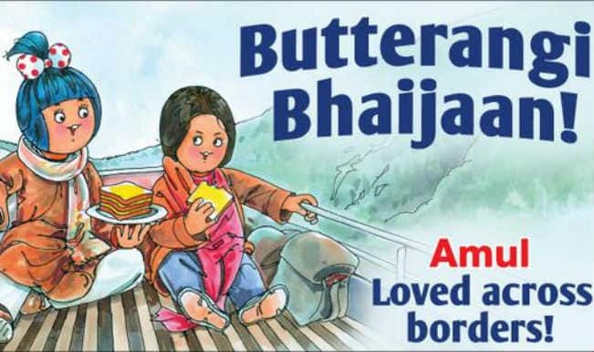 Bajrangi Bhaijaan gets thumbs up from Amul topical as well!