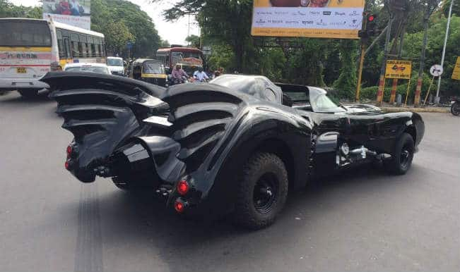 Spotted: Batman lives in Pune!