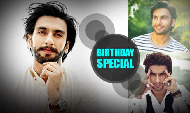 Happy Birthday, Ranveer Singh! 5 reasons why we love the mischievous boy of Bollywood!