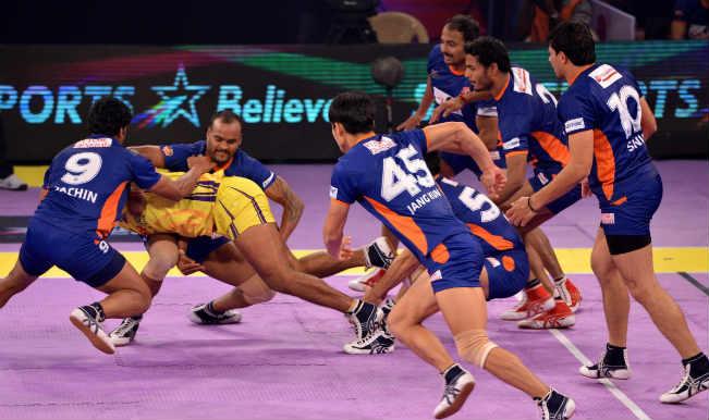 Hyderabad Win 31-30 | Pro Kabaddi League 2015 Live Score: Bengal Warriors vs Telugu Titans Live Points Update