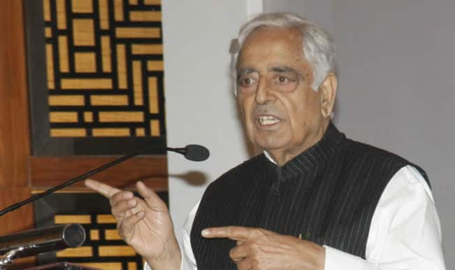 Mufti Muhammad Sayeed: Took power to reconcile differences