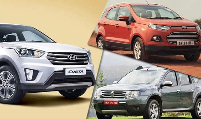Hyundai Creta vs Ford Ecosport vs Renault Duster: Which compact SUV you should go for!