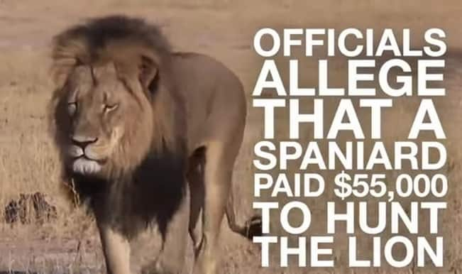Outrage: Cecil The Lion killed by American Dentist Walter Palmer! (Watch video)