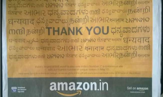 Amazon thanks India through its languages, but Sindhis aren't too pleased! Is it a real issue?