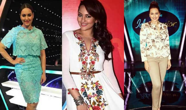 Indian Idol Junior: Sonakshi Sinha on the singing show: Elegant or not?