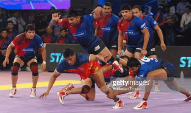 Pro Kabaddi League 2015 Free Live Streaming: Watch Bengal Warriors Vs Dabang Delhi, Match 14 Live Telecast on Star Sports