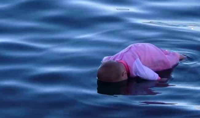 Will you save a drowning baby?
