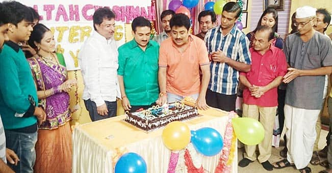 Taarak Mehta Ka Ooltah Chashmah team celebrates on