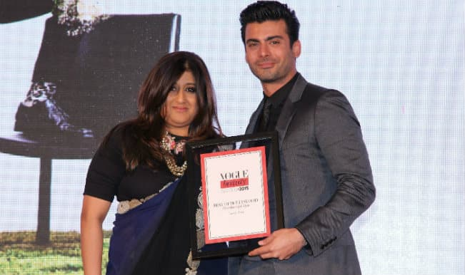 Vogue Beauty 2015: Fawad Khan recieves the 'Most Beautiful Man' honour!