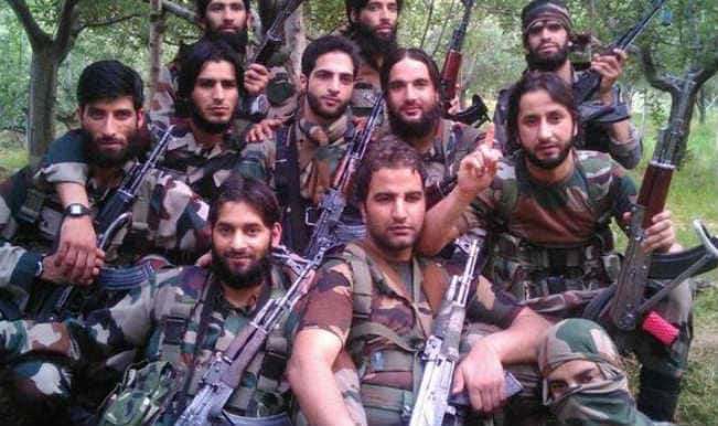 Here is a video of Kashmiri militants that has surfaced on the internet