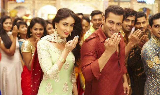 Bajrangi Bhaijaan Aaj Ki Party song: Salman Khan and Kareena Kapoor get in festive mood with the Eid song