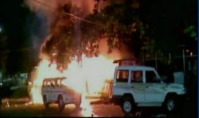 Five injured in massive fire mishap in Andhra Pradesh